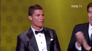 Khoảnh Khắc Cristiano Ronaldo đoạt Giải Quả Bóng Vàng 2013