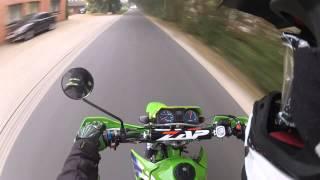 7. Drive to School | Kawasaki KMX 125
