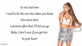 Video Ariana Grande - One Last Time (Lyrics) MP3, 3GP, MP4, WEBM, AVI, FLV Maret 2018