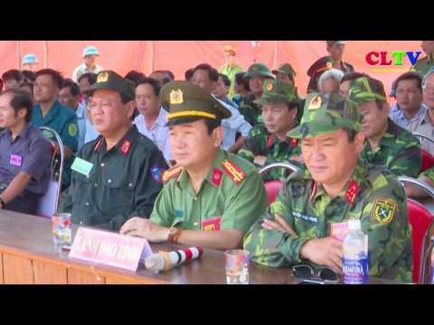 Bế mạc diễn tập KVPT huyện Cam Lộ