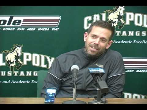 Cal Poly Women's Volleyball Head Coach Sam Crosson