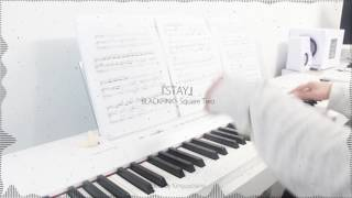BLACKPINK - [SQUARE TWO] STAY - piano cover w/ sheet music