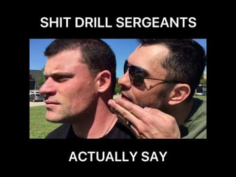 Things Drill Sergeants Actually Say