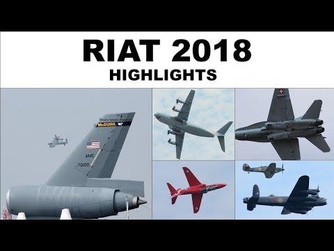 Royal International Air Tattoo highlights | 2018