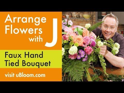 How To Arrange Flowers A Cascading Wedding Bouquet Vidoemo Apps