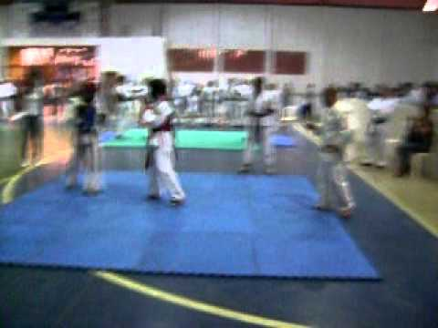Minha luta em Quitandinha 2011 Karate shubu-dô