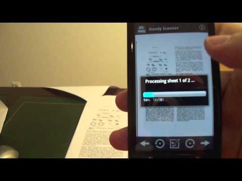 Video of Handy Scanner Free PDF Creator