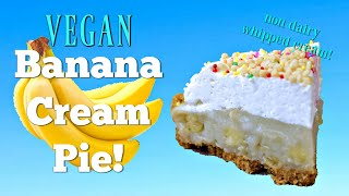 How to Make a Vegan Banana Cream Pie by Gretchen's Bakery