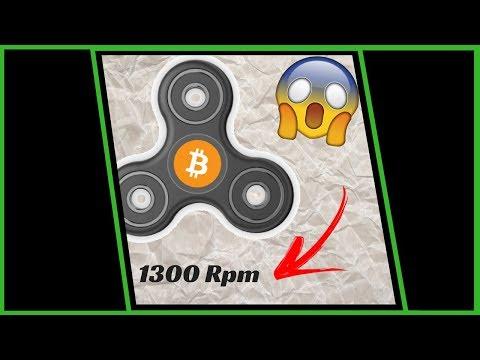 Como Ganhar Mais Velocidade No BTC Hand Spinner - Anyons Coin