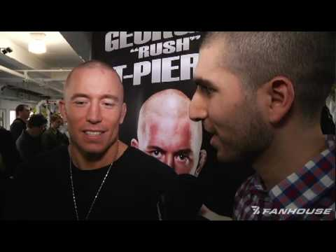 UFC 111 Georges StPierre Expects Five Round War With Dan Hardy