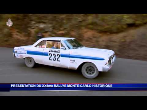 20th Monte-Carlo Historic Rally