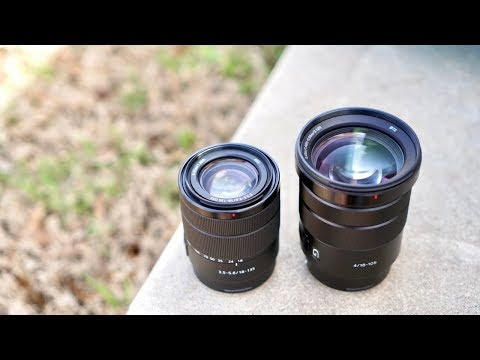 Sony 18-135mm vs Sony 18-105mm Lens Comparison