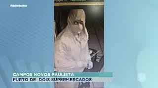 Campos Novos Paulista: polícia procura por bandidos que roubaram mercados