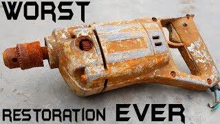 Video Antique RUSTED Electric Corded Drill RESTORATION MP3, 3GP, MP4, WEBM, AVI, FLV Maret 2019