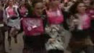 High Heel Stiletto Race -see Those Girls Go!