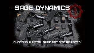 Choosing a Handgun Optic Dot Size Revisited