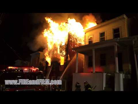 fire - Firefighters from Pottsville and surrounding communities battled a second alarm blaze that turned fatal. For more info visit www.FIREandFILM.com.