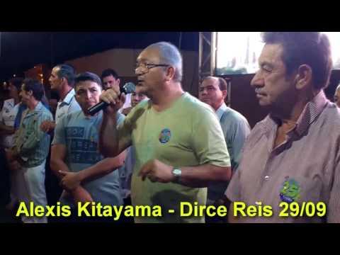 Dirce Reis - Correligionários do Prefeito Roberto Visoná (15) agridem adversários, médico Alexis Kitayama desabafa.