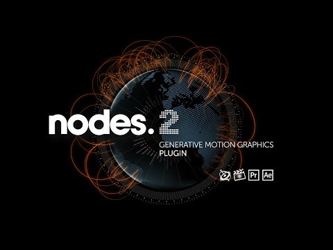 nodes - http://fxfactory.com/info/nodes2/ Combine text, graphics and images in stunning 3D animations.