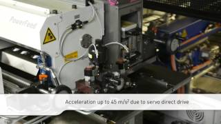 With the development of the TwinServo Technology Schuler turnes the press upside down: drive trains have been relocated from...