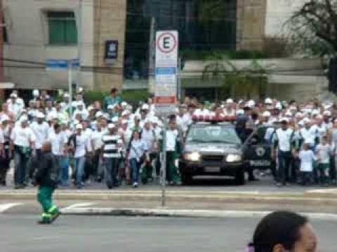 Mancha Verde Chega Apavorando No Pacaembu 19/09 http://sanguepalmeirense.blogspot.com/