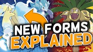 NEW POKEMON FORM ANALYSIS!! - Pokémon Sun and Moon by Tyranitar Tube
