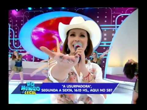 Gabriela Spanic cantando La usurpadora