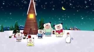 【2015新北市歡樂耶誕城】 主燈秀前導動畫