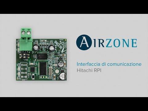 Installazione Interfaccia Airzone - Macchina Hitachi RPI