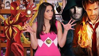 ExtraordiNews - Stephen Amell en WWE, Constantine, Spider-Man y más