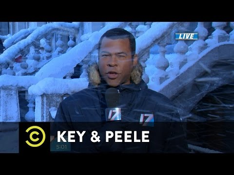 KEY and PEELE have their own take on BLACK ICE / BLACK GUYS