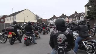 Download Video hells angels london memorial ride 21 03 2015 MP3 3GP MP4