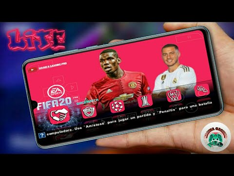 DOWNLOAD FIFA 2020 TERBARU  Highly Compreesed New Kits PS4 GRAPHICS | PPSSPP ISO | ANDROID Offline