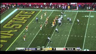 Geno Smith vs Iowa State (2012)