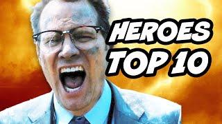 Heroes Reborn Episode 1 - 2 TOP 10 Moments