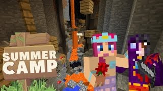 SUMMER CAMP! | With Kim & Amy! | Ep.12! MINESHAFT MADNESS! | Amy Lee33