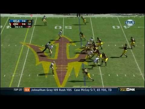 Taylor Kelly vs UCLA 2012 video.