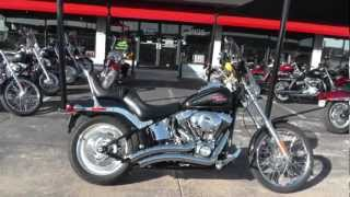 6. Used 2009 Harley-Davidson Softail Custom FXSTC  Motorcycle For Sale