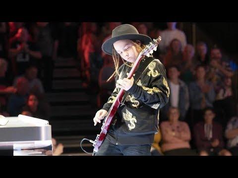 9 Years Old Guitarist Taj Farrant WOWS the judges   Australia Got Talent 2019