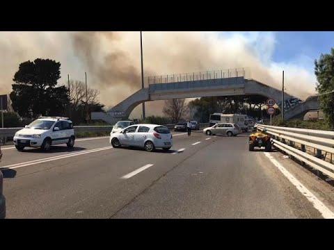 Μεγάλες πυρκαγιές σε Ιταλία- Γαλλία- Κροατία