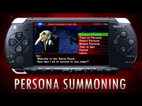 preview-Persona 2 Innocent Sin PSP Trailer - Negotiation (HD) (GameZoneOnline)