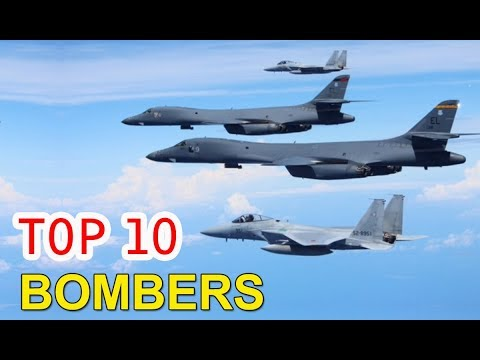 Top 10 Bombers Aircraft | Top Amazing  10....