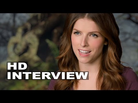 "Into the Woods: Anna Kendrick ""Cinderella"" Behind the Scenes Movie Interview"