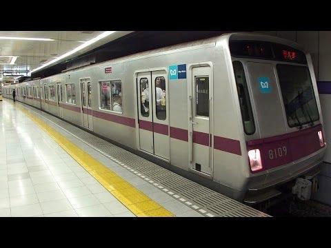 東京メトロ半蔵門線・東武伊勢崎線 押上駅にて(At Oshiage Station on the Tokyo Metro Hanzomon Line and Tobu Isesaki Line)