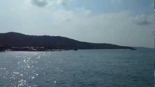 Arriving By Boat Ko Samet Thailand