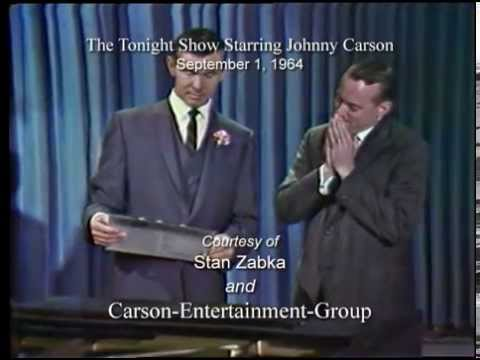 The Tonight Show: September 1, 1964.
