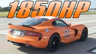 1850hp Viper - 205mph - 1/2 Mile by High Tech Corvette