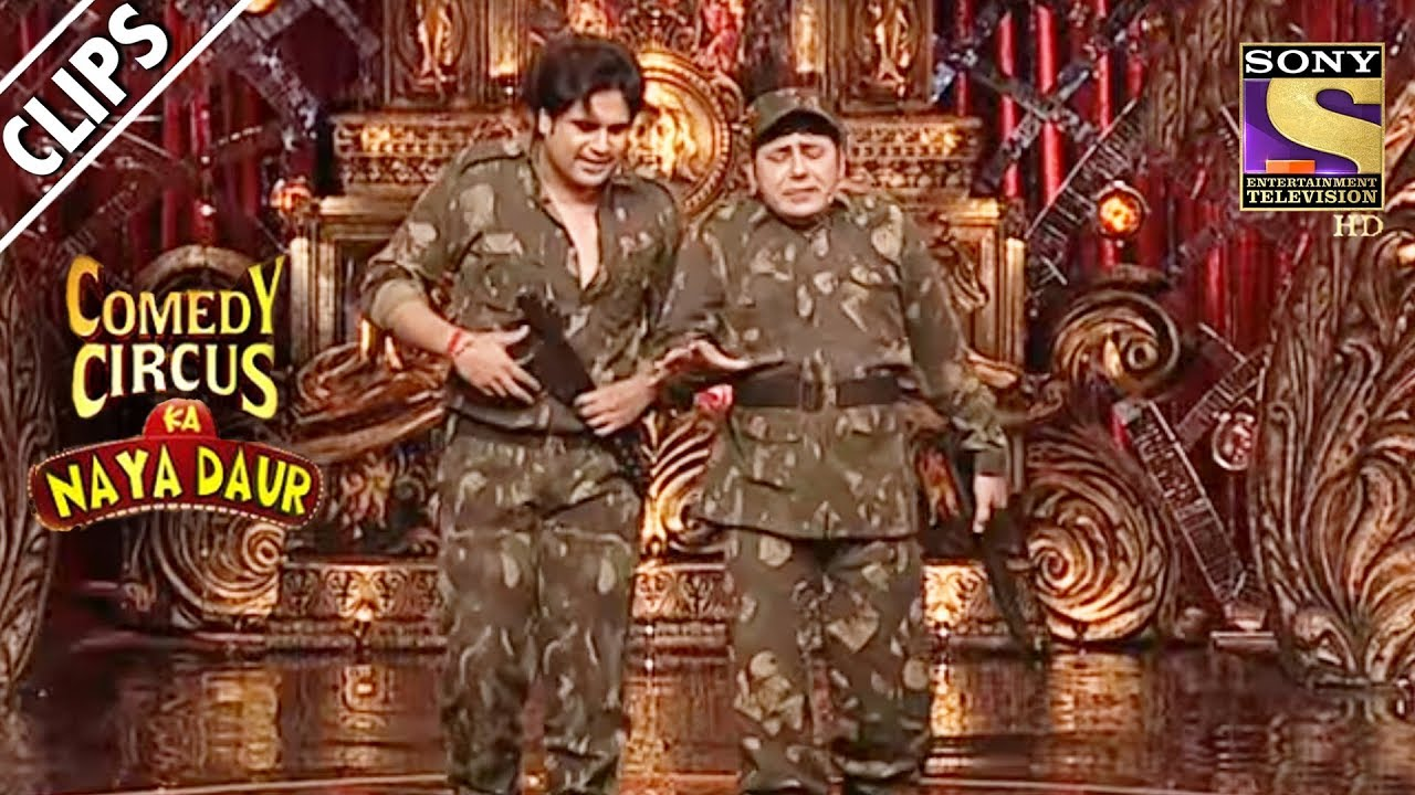 Krushna & Sudesh The Future Soldiers | Comedy Circus Ka Naya Daur