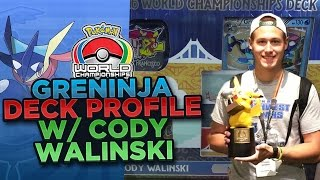 Pokemon TCG Greninja Deck Profile By Cody Walinski - 2016 World Championship Finalist by ThePokeCapital