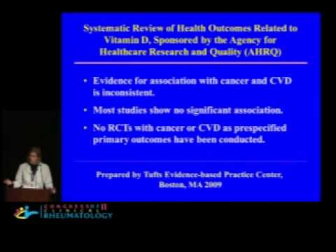 Vitamin D in the Prevention of Cancer and Cardiovascular Disease - JoAnn E Manson, MD, DrPH